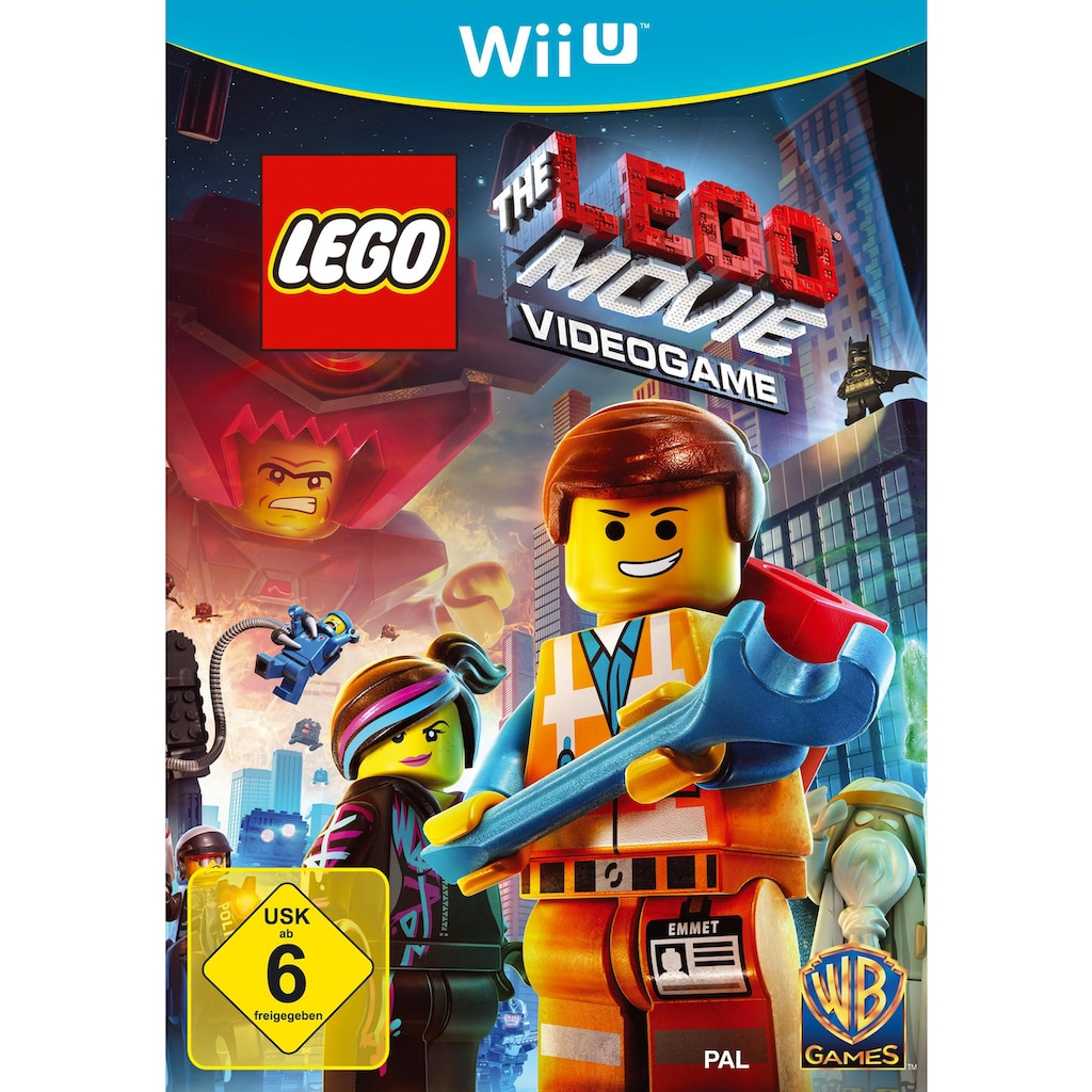 Warner Games Spiel »The LEGO Movie Videogame«, Nintendo Wii U, Software Pyramide