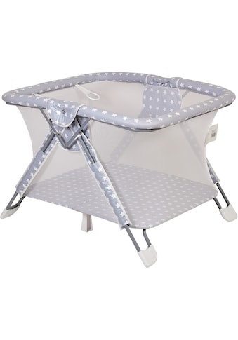 POLINI kids Laufgitter »Sterne grau-weiß, 88x105x75 cm«, bis 18 kg kaufen