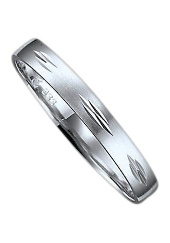Firetti Trauring mit Gravur »seidenmatt, Diamantschnitt, 3,0 mm breit« kaufen