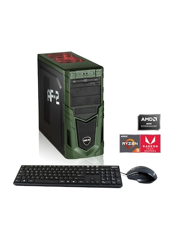 Hyrican Multimedia PC Ryzen 5 3400G 8GB RAM 480GB SSD Radeon RX Vega 11 »Multimedia PC 6435« kaufen