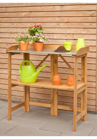 Kiehn-Holz Pflanztisch, BxTxH: 98x48x97 cm kaufen