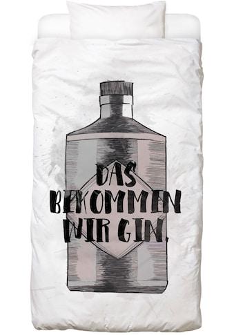 Juniqe Bettwäsche »Gin«, In vielen weiteren Designs erhältlich kaufen