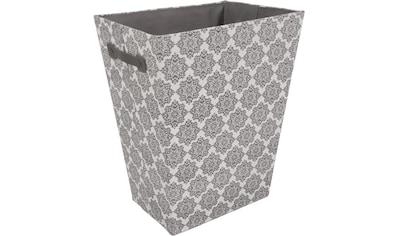 Franz Müller Flechtwaren Wäschebox »TexBox«, Ornamente, mit seitlichen Tragegriffen kaufen