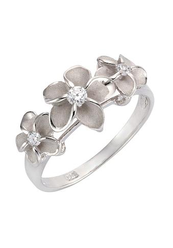 Firetti Silberring »Blume/Blüte«, mit Zirkonia kaufen