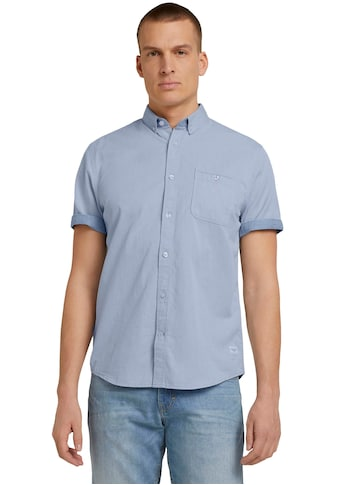 TOM TAILOR Kurzarmhemd, mit vorgesetzter Schulternaht kaufen