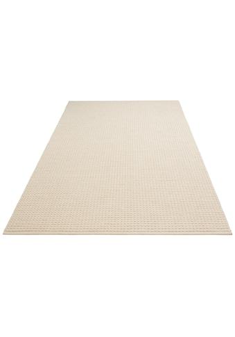 DELAVITA Teppich »Sanara«, rechteckig, 13 mm Höhe, Strickoptik, Wohnzimmer kaufen