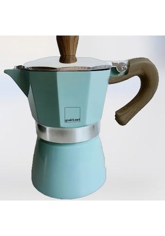 gnali & zani Espressokocher »Venezia«, Induktion, blau kaufen