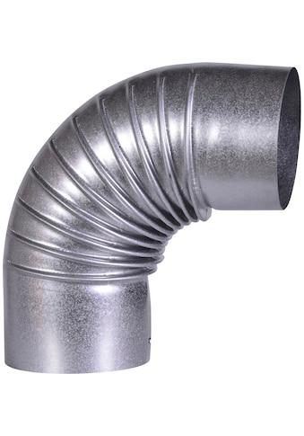 FIREFIX Rohrbogen feueraluminiert, starr, für 100 mm FAL - Ofenrohr kaufen