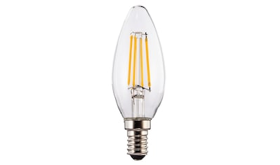 Xavax LED-Filament, E14, 470lm ersetzt 40W, Kerzenlampe, klar kaufen