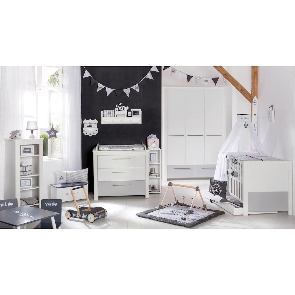 roba® Babyzimmer-Komplettset »Linus«, (Set, 3 St.), mit Kinderbett, Schrank und Wickelkommode