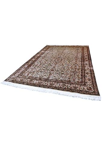 Kayoom Seidenteppich »Allover 229«, rechteckig, 10 mm Höhe, Einzelstück mit... kaufen