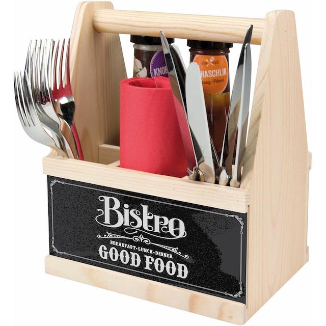 "Contento Besteckträger ""Bistro Good Food"""