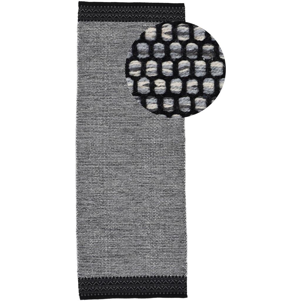 carpetfine Läufer »Kelim Mia«, rechteckig, 6 mm Höhe, Baumwolle Wendeteppich