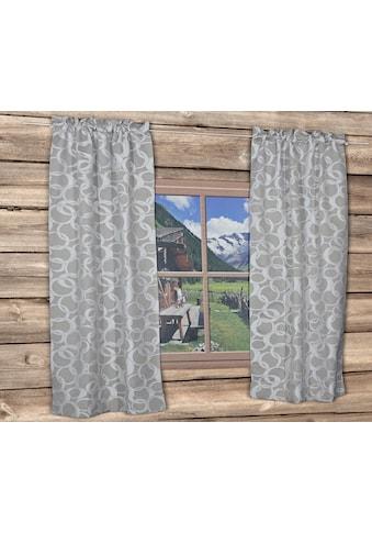 Vorhang, »DAYTON«, HOSSNER  -  ART OF HOME DECO, Stangendurchzug 1 Stück kaufen