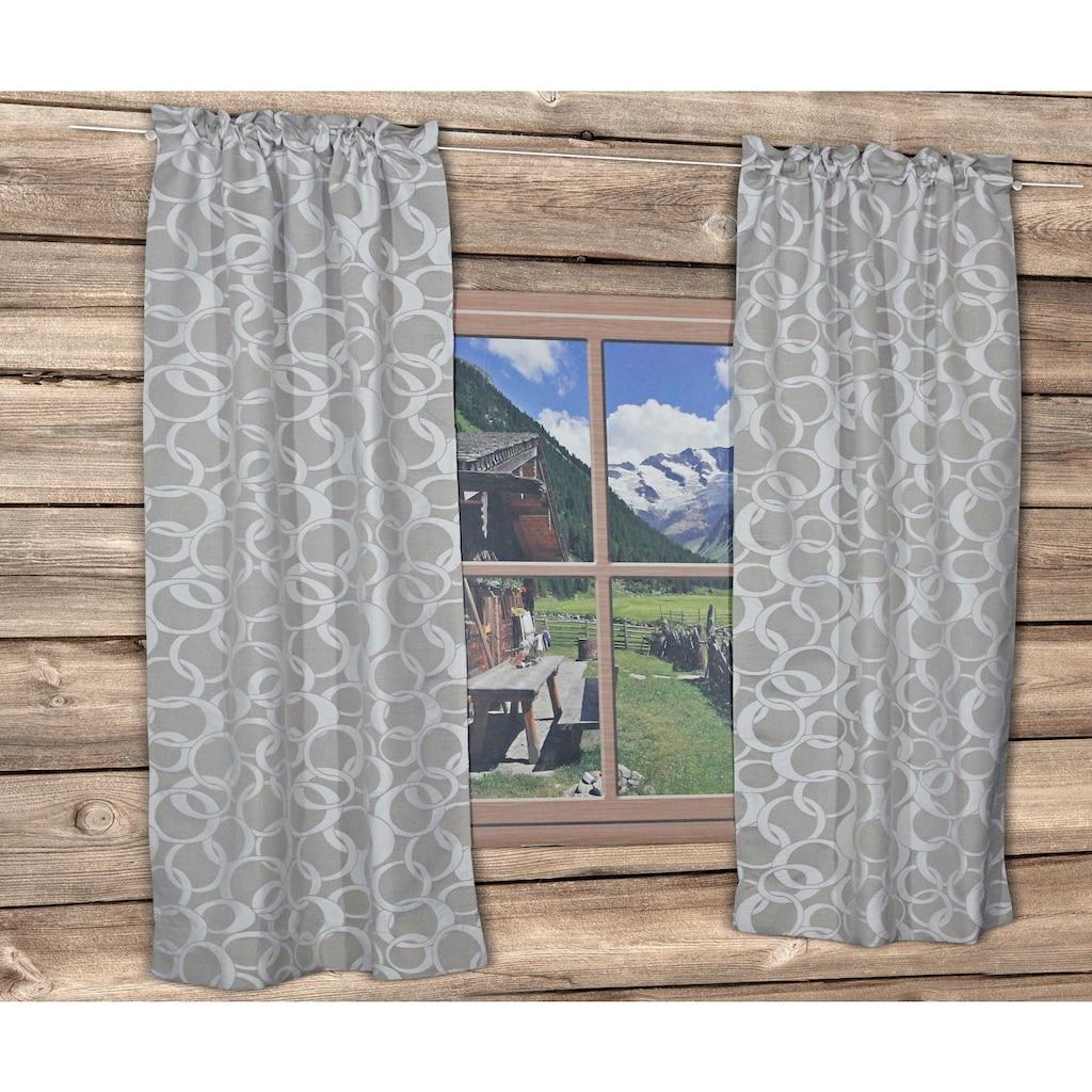 HOSSNER - ART OF HOME DECO Vorhang »DAYTON«, 70's Style