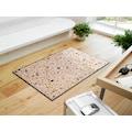wash+dry by Kleen-Tex Fußmatte »Sasso«, rechteckig, 7 mm Höhe, Schmutzfangmatte, In- und Outdoor geeignet, waschbar