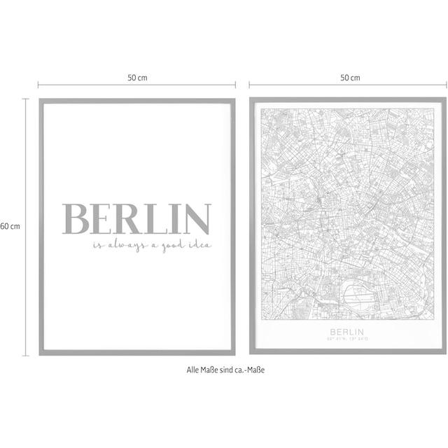 Poster »Berlin is always a good idea« (Set)
