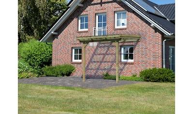 KARIBU Terrassendach »Eco Gr. A«, Breite 244 cm, verschiedene Tiefen kaufen