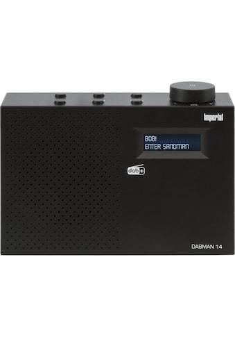 IMPERIAL Digitalradio (DAB+) »DABMAN 14«, ( Digitalradio (DAB+) ), mit Weckfunktion... kaufen