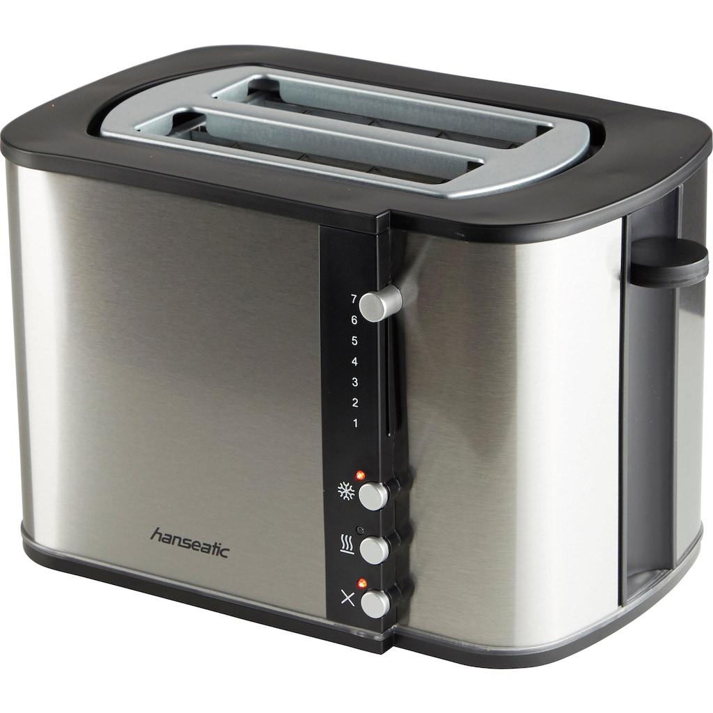 Hanseatic Toaster »59021228«, für 2 Scheiben, 870 Watt