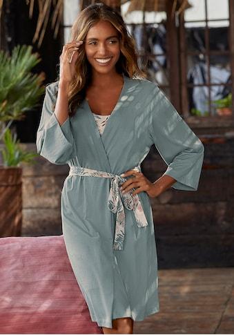 LASCANA Kimono, in uni und Allover-Druck kaufen