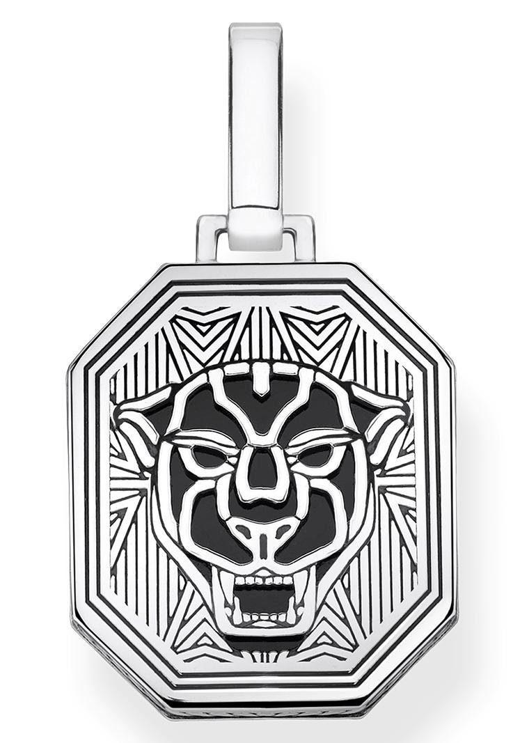 THOMAS SABO Kettenanhänger »Black Cat, PE862-698-11« | Schmuck > Halsketten > Ketten ohne Anhänger | Thomas Sabo