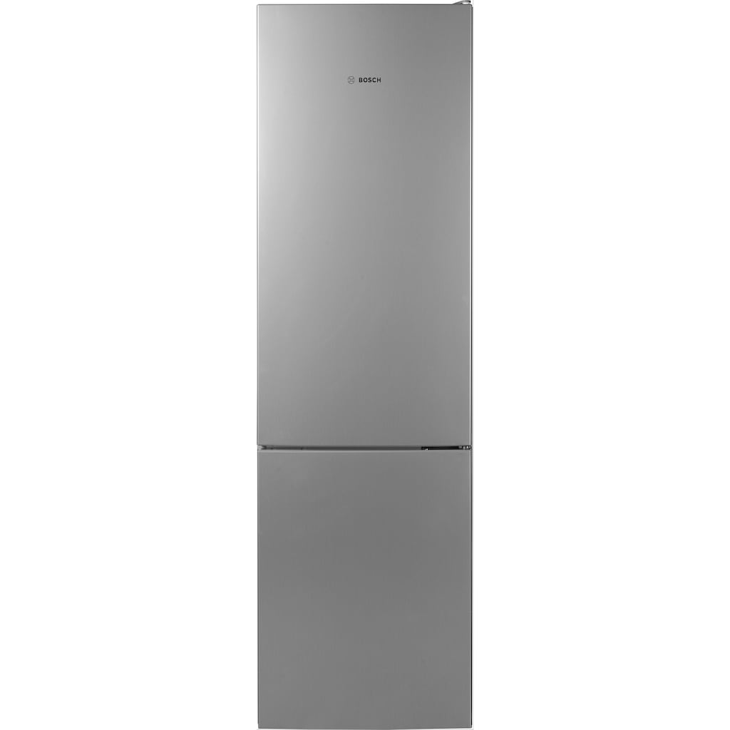 BOSCH Kühl-/Gefrierkombination »KGE39ACA«, Serie 6, KGE39ALCA, 201 cm hoch, 60 cm breit
