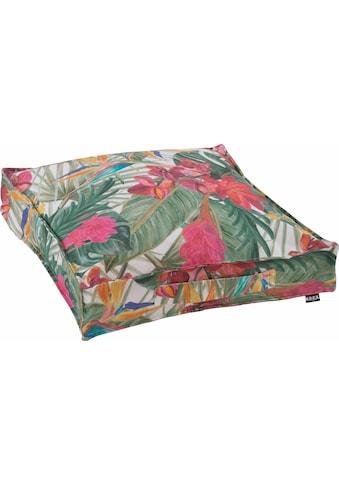 H.O.C.K. Sitzkissen »Beach Life«, mit tropischem Muster kaufen