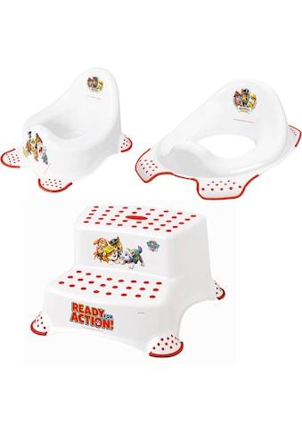 keeeper Töpfchen »Paw Patrol«, Kinderpflege-Set - Töpfchen, Toilettensitz und Tritthocker; Made in Europe kaufen