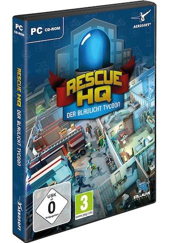aerosoft Spiel »Der Blaulicht Tycoon-Rescue HQ«, PC kaufen