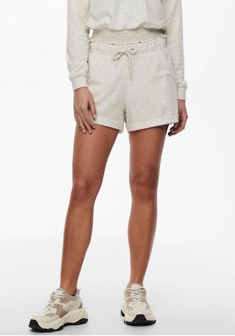 Only Shorts »ONLELA«, mit Aufschlag kaufen