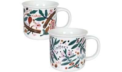 Könitz Becher »Cacao & Coffee by Julia Kluge«, (Set, 2 Becher mit unterschiedlichen... kaufen