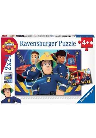 Ravensburger Puzzle »Feuerwehrmann Sam, Sam hilft in der Not«, Made in Europe, FSC® -... kaufen