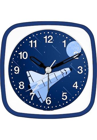 EUROTIME Kinderwecker »Space Shuttle blau, 27135-08« kaufen