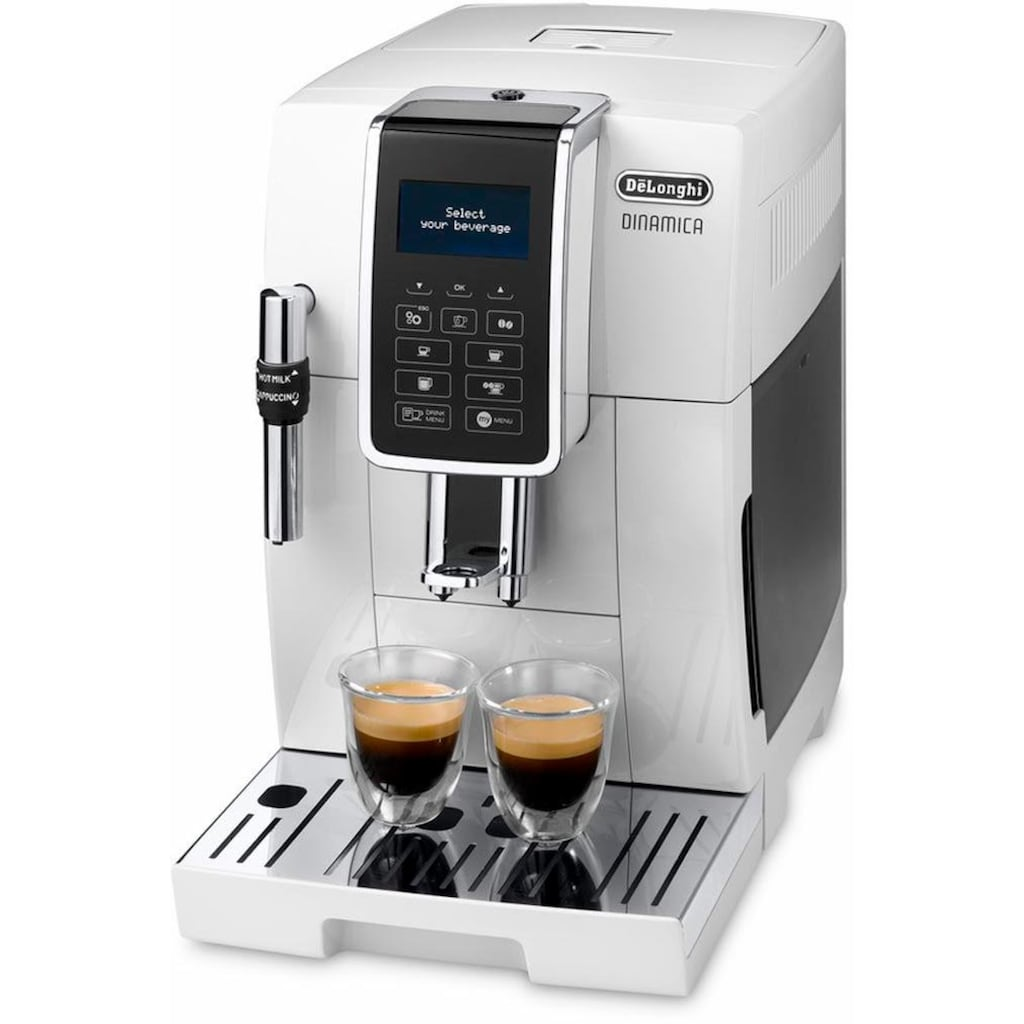 De'Longhi Kaffeevollautomat »Dinamica ECAM 350.35.W«, großer 1.8l Wassertank