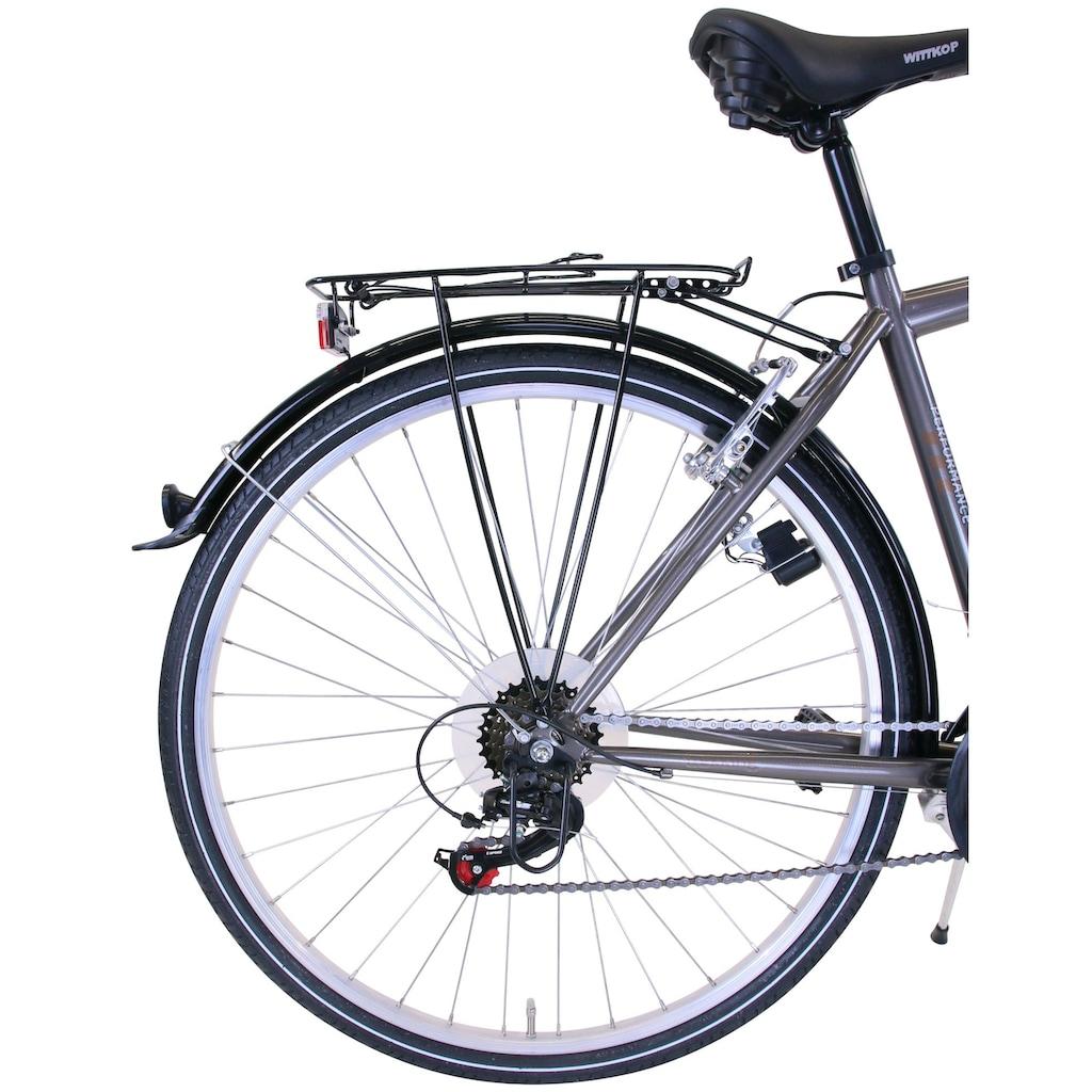 Performance Trekkingrad, 18 Gang, Shimano, ACERA RDM360 Schaltwerk, Kettenschaltung