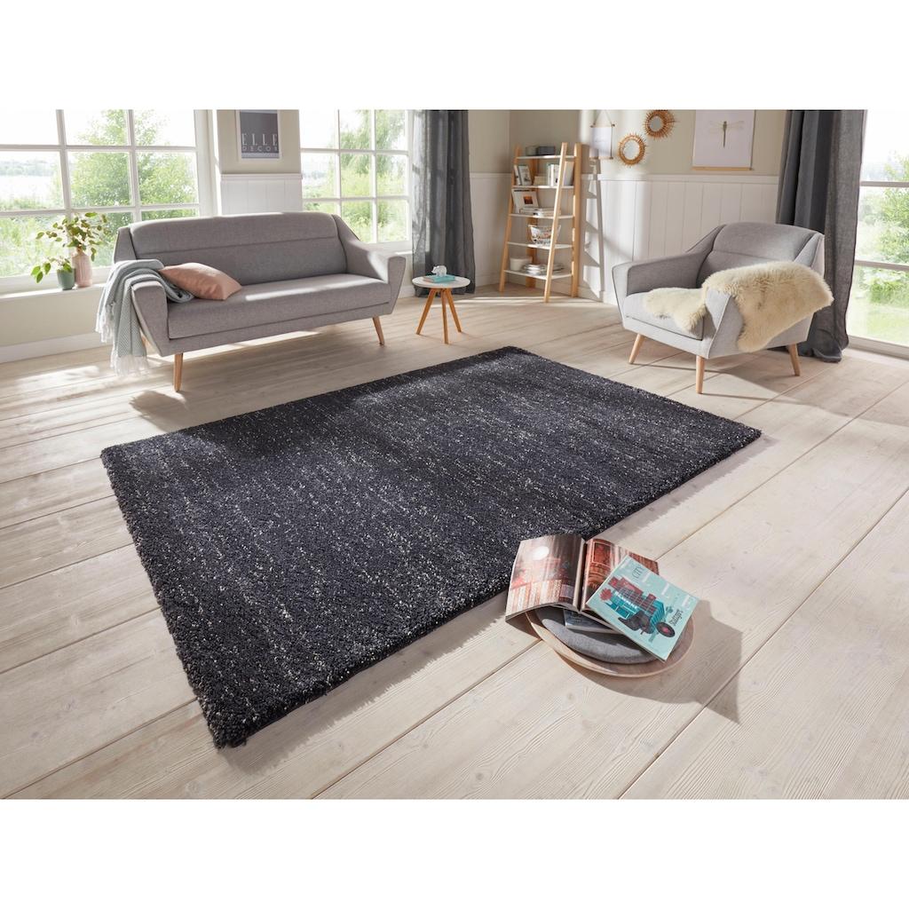 ELLE Decor Hochflor-Teppich »Orly«, rechteckig, 32 mm Höhe, Wohnzimmer
