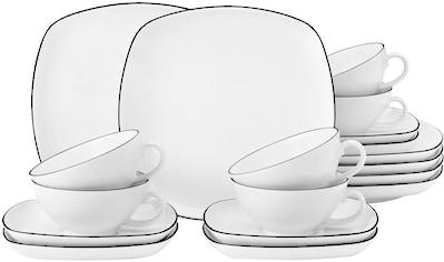 Seltmann Weiden Teeservice »Lido«, (Set, 18 tlg.), 140 ml kaufen