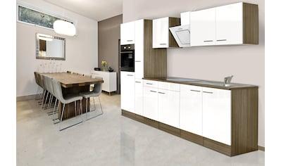 RESPEKTA Küchenzeile »York«, mit E-Geräten, Breite 300 cm kaufen