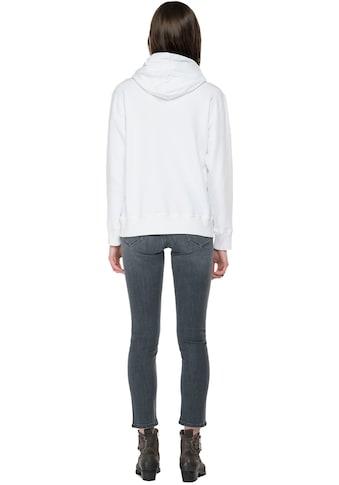 Replay Sweatshirt, mit Kapuze und Logoprint kaufen