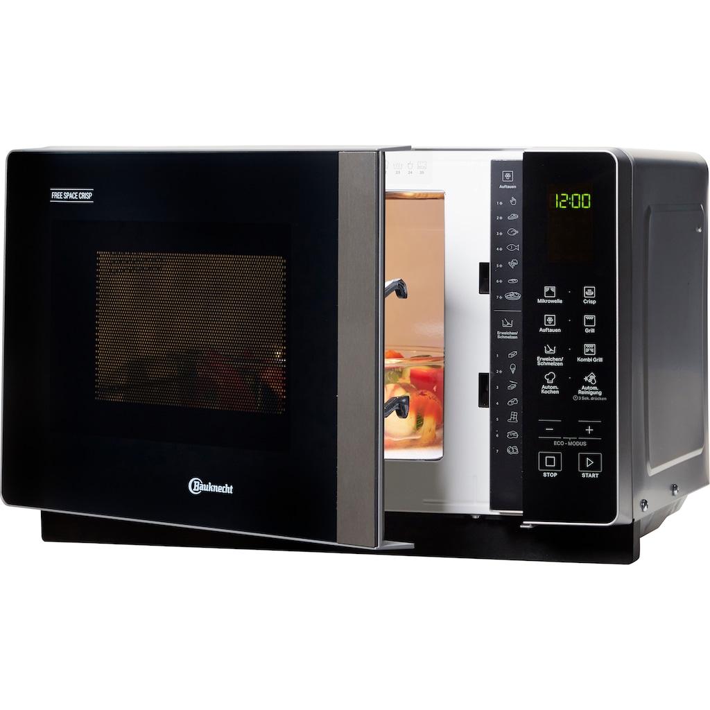 BAUKNECHT Mikrowelle »MF 206 SB«, Grill-Mikrowelle, 800 W