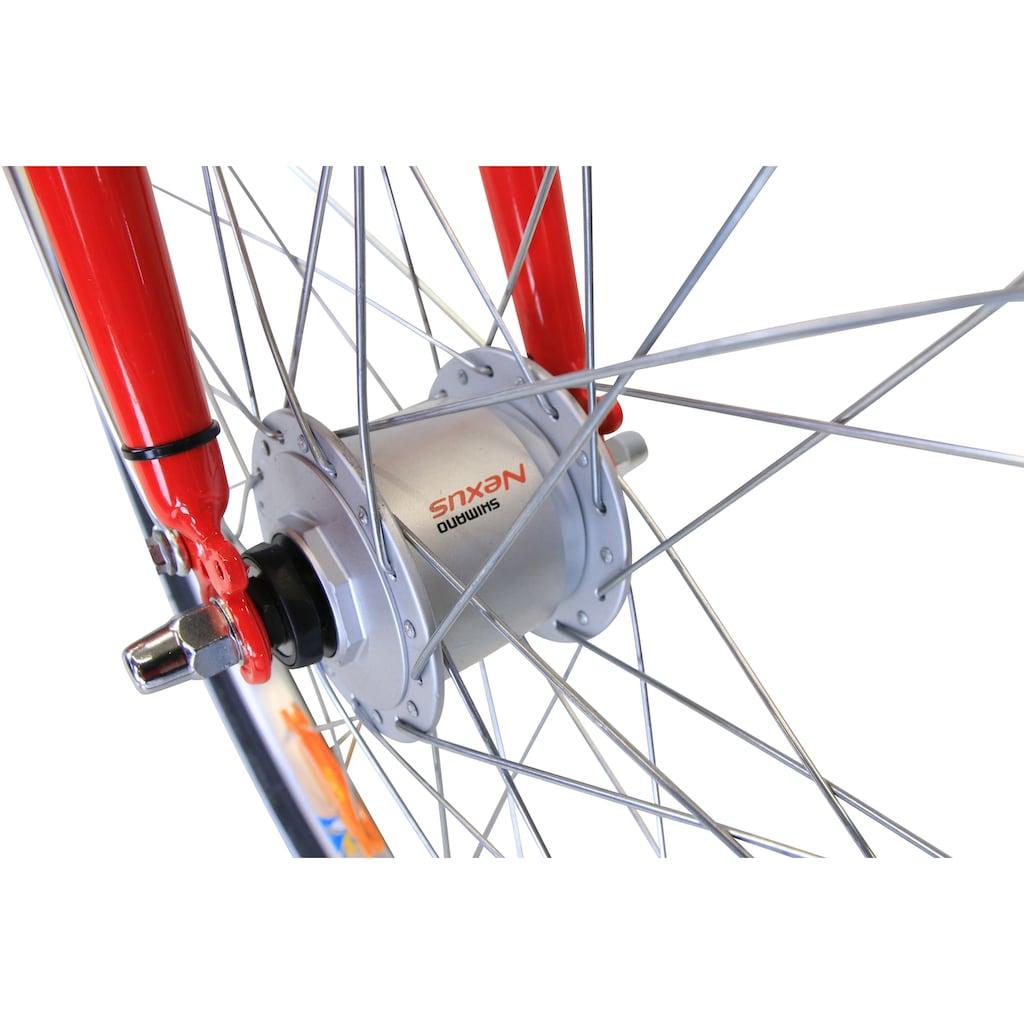 HAWK Bikes Jugendfahrrad »HAWK Kinderrad Girls Red«, 3 Gang Shimano Nexus Schaltwerk