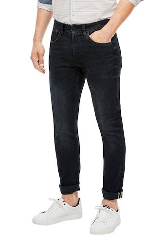 s.Oliver Straight-Jeans »KEITH«, mit authentischer Waschung kaufen