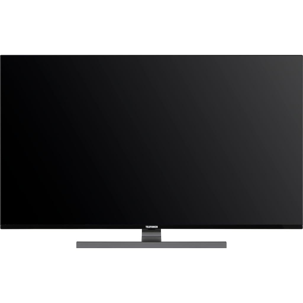 """Telefunken LED-Fernseher »D65V900M4CWH«, 164 cm/65 """", 4K Ultra HD, Smart-TV, 9.0, HDR10, Dolby Vision, 36 Monaten Herstellerlangzeitgarantie"""