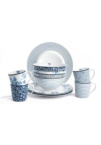 LAURA ASHLEY BLUEPRINT COLLECTABLES Frühstücks-Set »Mix Designs China Rose, Sweet... kaufen