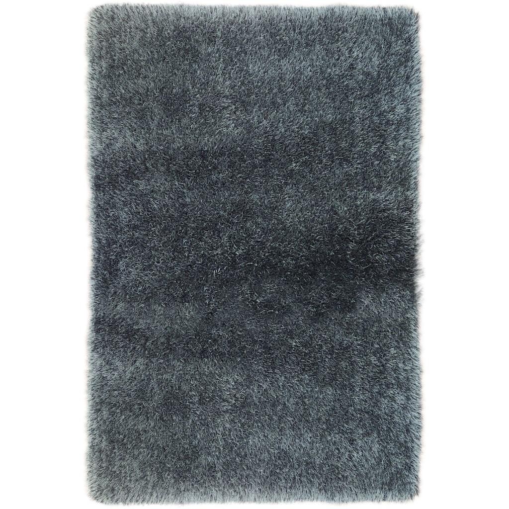 Bruno Banani Hochflor-Teppich »Airis«, rechteckig, 65 mm Höhe, Besonders weich durch Microfaser