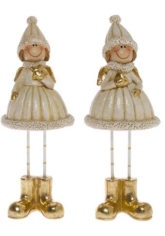 Weihnachtsfigur »Winterkinder« (Set, 2 Stück) kaufen
