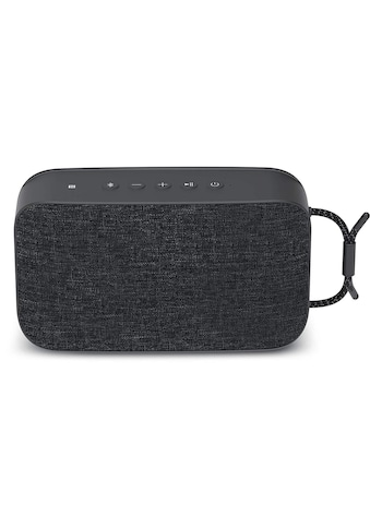TechniSat Portabler Bluetooth - Lautsprecher mit True Wireless Stereo »BLUESPEAKER TWS XL« kaufen