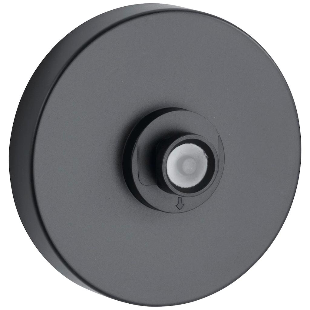 WENKO Badregal »Classic Plus Black«, (1 St.), mit Vacuum-Loc® Adapter
