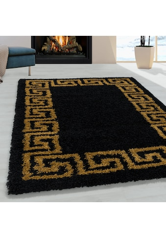 Ayyildiz Hochflor-Teppich »HERA 3301«, rund, 50 mm Höhe kaufen